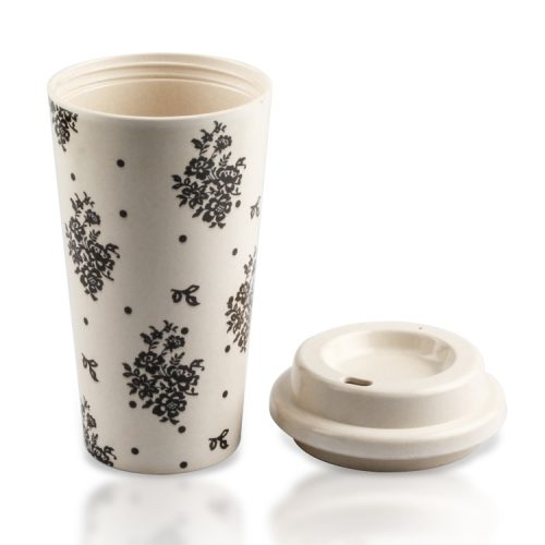 bamboo fiber cups with lid