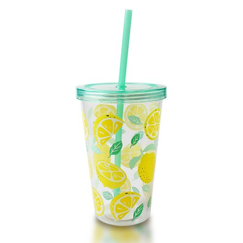 Plastic Tumbler With Straw Bulk for Wholesale