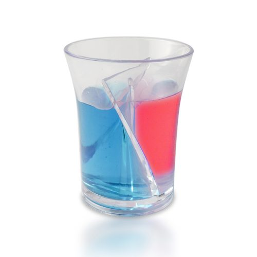 plastic shot cup mixed drink