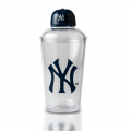 16 OZ Plastic Cocktail Shaker With New York Yankees Design