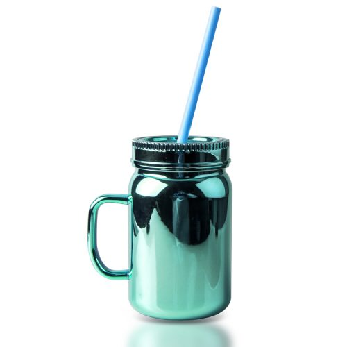 mason jar drinking mugs