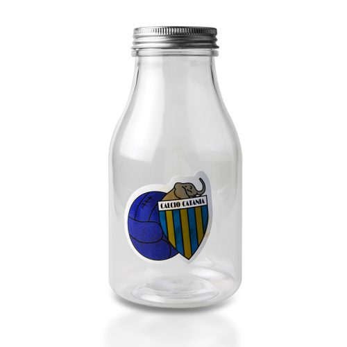 milk jars with lids