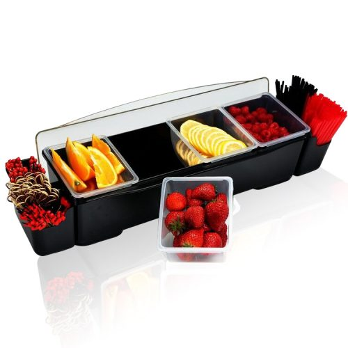 Plastic Garnish Tray