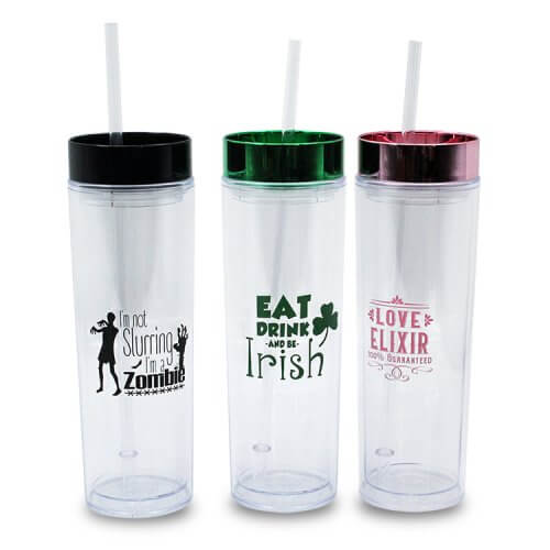 Skinny Tumbler with Cover For Events (3)